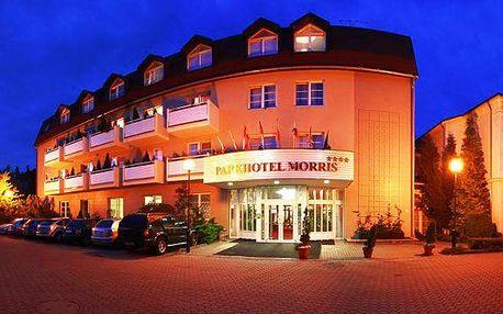 3denní romantický wellness pobyt v Parkhotelu Morris**** v Novém Boru pro 2 osoby