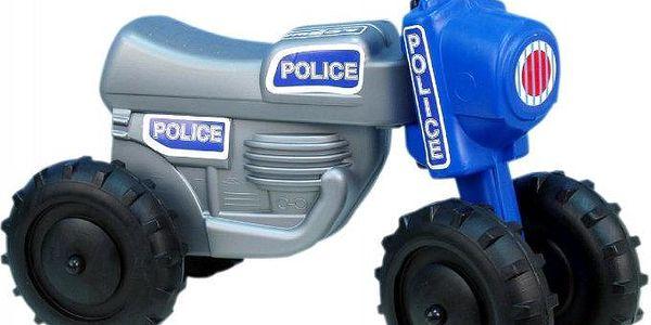 Teddies Odrážedlo CROSS Policie
