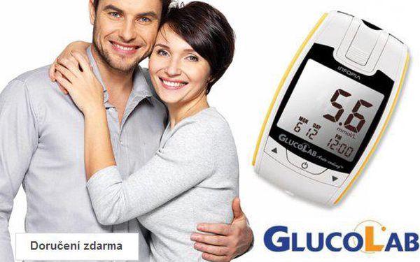 Glukometr GlucoLab – doručení zdarma