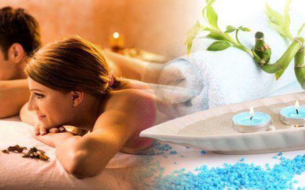 60 minutová masáž celého těla 1 osobu či pro párdle výběruz pěti variant: relaxační, rekondiční, čokoládová, medová, sportovní. Prožijte dokonalou romantiku a uvolnění