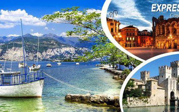 Zájezd do Verony a k Lago di Garda s nocí v hotelu
