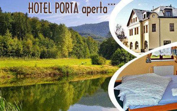 Jaro v hotelu Porta aperta v Jizerských horách