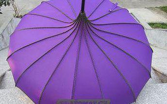 Originální orientální deštník ve veselých barvách - budete nepřehlédnutelní!