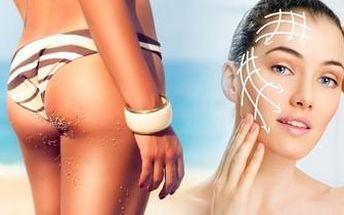 Fantastický balíček 2v1. Anticelulitidní masáž nohou a liftingová masáž obličeje s maskou.
