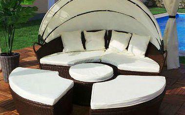 Polyratanové sezení