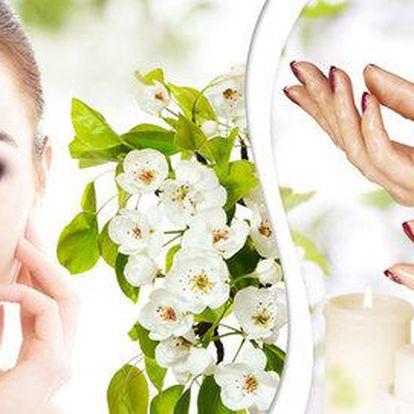 Kompletní kosmetické ošetření vč. parafínu a ošetření dekoltu