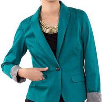 Dámské elegantní sako Mim, zelená