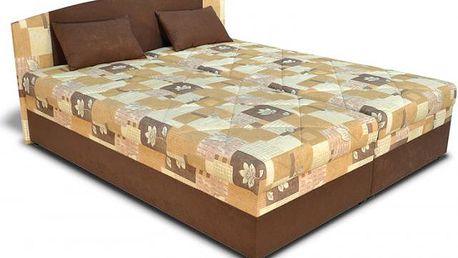 Prostorná čalouněná postel Kappa pro královské spaní