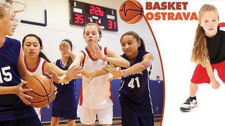 Ostravská basketparáda pro dívky - 3 měsíce