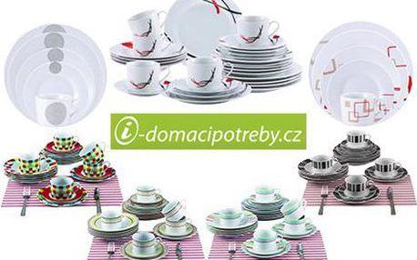 Jídelní sady z porcelánu RENBERG: výběr z pestré palety