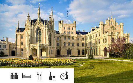 Jižní Morava – pobyt u zámku Lednice