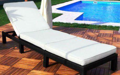 Relax na zahradě: Polyratanová lehátka značky Swing&Harmonie®