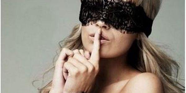 Erotický balíček krajkové pásky na oči a krajkovýc...