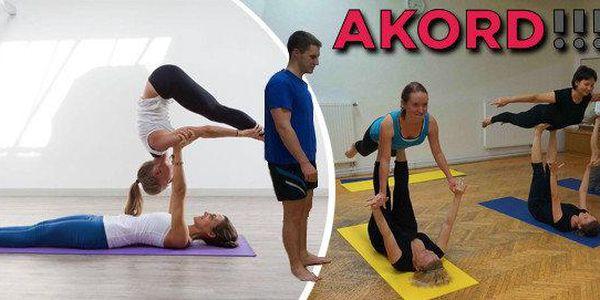 AcroYoga pro jednotlivce nebo páry v Ostravě