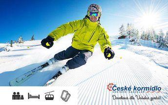 Týden lyžování v Paganelle až pro 6 osob