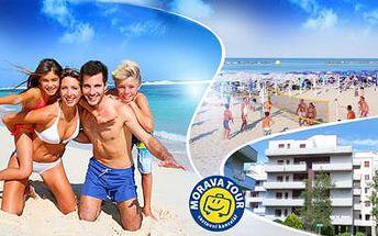 ITÁLIE! 8denní dovolená pro 1 osobu v letovisku Lido Adriano! Ubytování v apartmánech jen 150 m od moře!