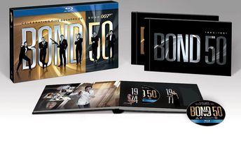 Všechny Bondovky vychází pohromadě ve vysokém rozlišení na Blu ray BOND 50