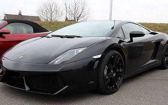 Jízda v supersporťáku Lamborghini Gallardo v Praze i na Moravě