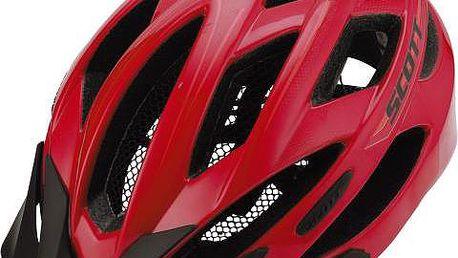 Cyklistická helma Watu červená
