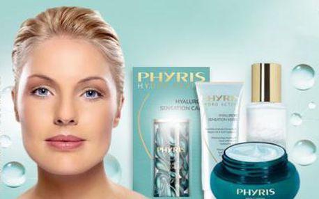 50min. HYDRATAČNÍ ošetření pleti LUXUSNÍ kosmetikou PHYRIS! Bez botoxu bez vrásek!