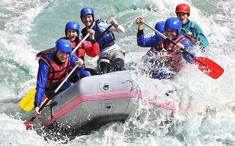 Rafting na řece Váh nebo na umělém kanále v Liptovském Mikuláši s instruktorem