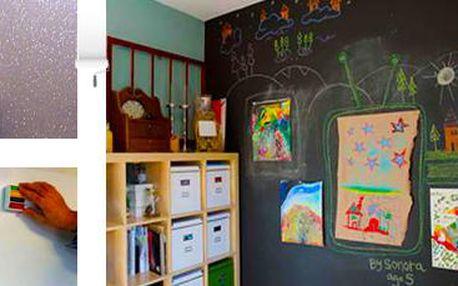 Designová, tabulová nebo magnetická barva na stěnu: Dekorativní i funkční!
