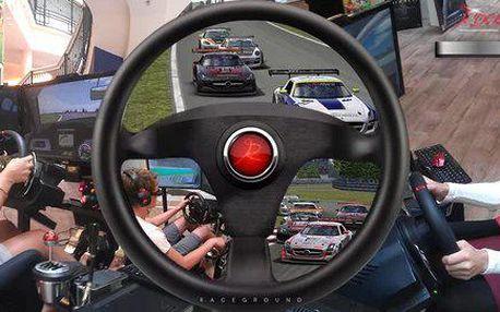 Závodní automobilový trenažér pro jednoho
