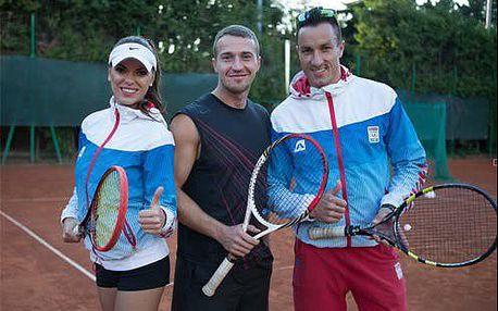 Lekcie tenisu s profesionálnym trénerom! Permanentka na 5 alebo 10 hodín v Bratislave