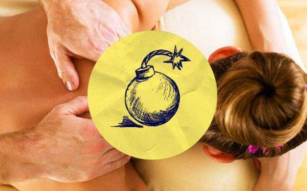 Uvolňující masáž šíje za 1 Kč