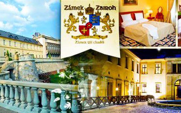 Luxusní dovolená na zámku Zbiroh: 3 dny (2 noci) pro 2 osoby!