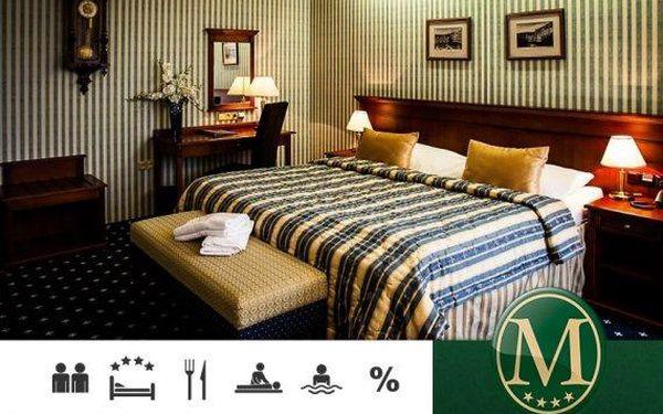 Mariánské Lázně – wellness pobyt s polopenzí v Golf Hotelu Morris****