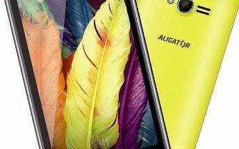 Aligator Phones Mobilní telefon Aligator S4020 Dual Sim - žlutý - Výprodej