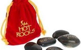 Masážní lávové kameny