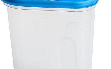 Plastová dóza s praktickým víčkem 2 l