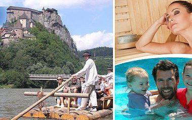 Relaxační dovolená na Oravě v penzionu Zelený dom s polopenzí, vstupem do vyhřívaného bazénu, sauny, solné jeskyně a 15% sleva do Meander Thermal Park Oravica!! Poznejte krásy pohádkového kraje v nejsevernější části Slovenska.