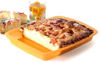 Silikonový pečící pekáč 35 x 26 x 3,8 cm