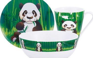 Kaiserhoff Dětská jídelní sada PANDA