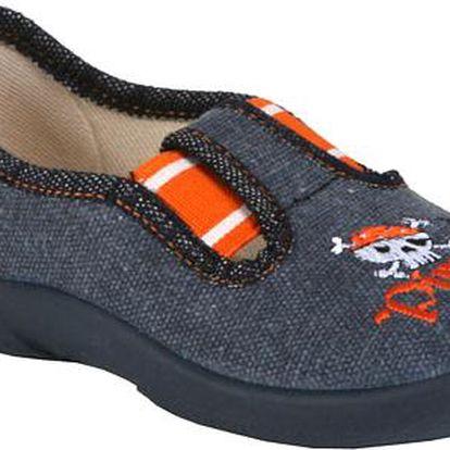 ARNO Dětská obuv MB - pirát modré tenisky