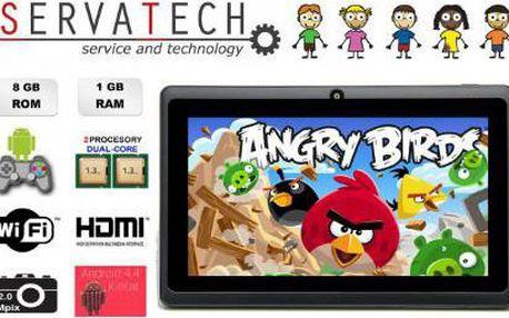 Tablet Symfony EASY MID 3, lze zakoupit včetně pouzdra s klávesnicí.
