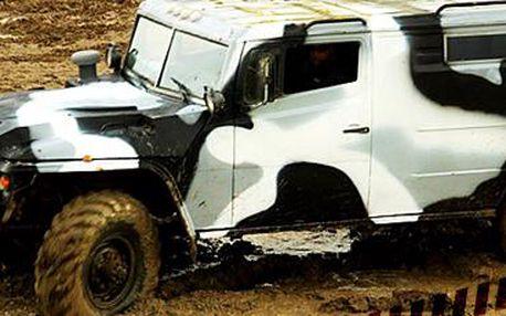 30 minut řízení GAZ Tigr: zážitek z jízdy v ruském armádním speciálu. Jediný v ČR!