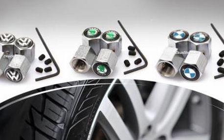 Čepičky ventilků z nerez oceli s ochranou proti krádeži pro Vaše auto! Výběr z mnoha automobilových značek!