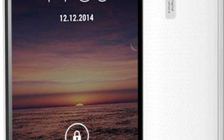Smartphone Aligator S5500 Duo White - Výprodej