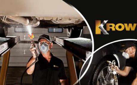 ANTIKOROZNÍ ošetření podvozku a dutin vozu speciální technologií KROWN či KOMPLETNÍ UMYTÍ automobilu!