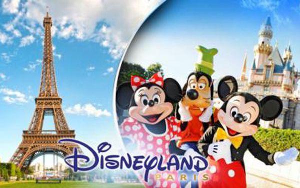 Zájezd do DISNEYLANDU vč. průvodce! Na otočku či s ubytováním, 3 nebo 4denní zájezd do Francie pro 1 osobu!