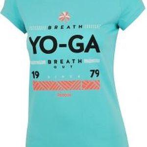 Dámské tričko GR YOGA modrá