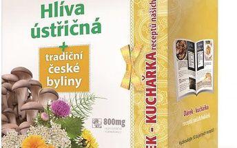 Přírodní doplněk stravy Simply you Imunit Hlíva ústřičná + tradiční české byliny 160 tbl. + kuchařka