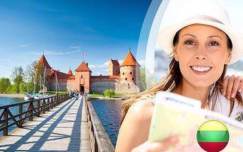 Krásy Pobaltí pro JEDNOHO na 5 dní - Vilnius, Trakai i Riga