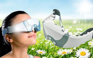 Unikátní MASÁŽNÍ PŘÍSTROJ NA OČI A OČNÍ OKOLÍ! Zbaví Vás únavy očí, migrén a navrátí Vám svěžest a energii!