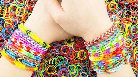 Velká sada 5000 FUN gumiček
