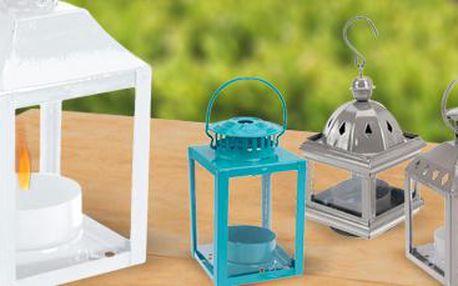 Sada 5 ks lucerniček na čajové svíčky: Zútulní váš altán!